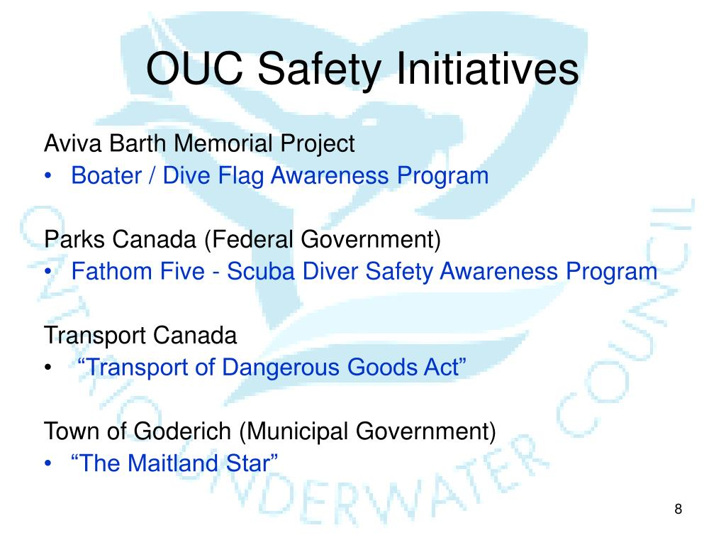 OUC Safety Initiatives