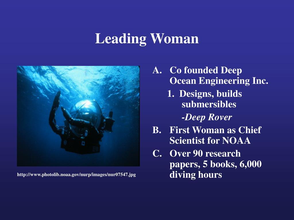 Leading Woman