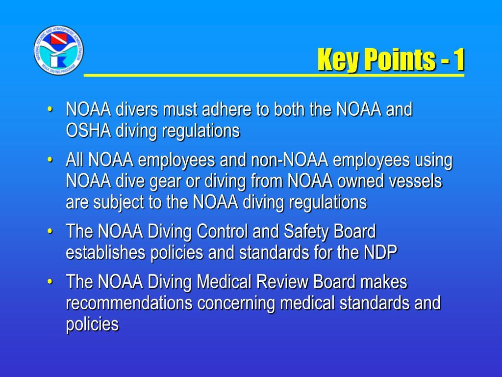 Key Points - 1