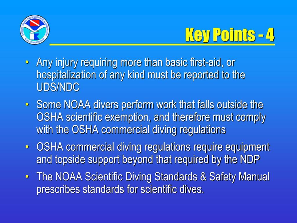 Key Points - 4