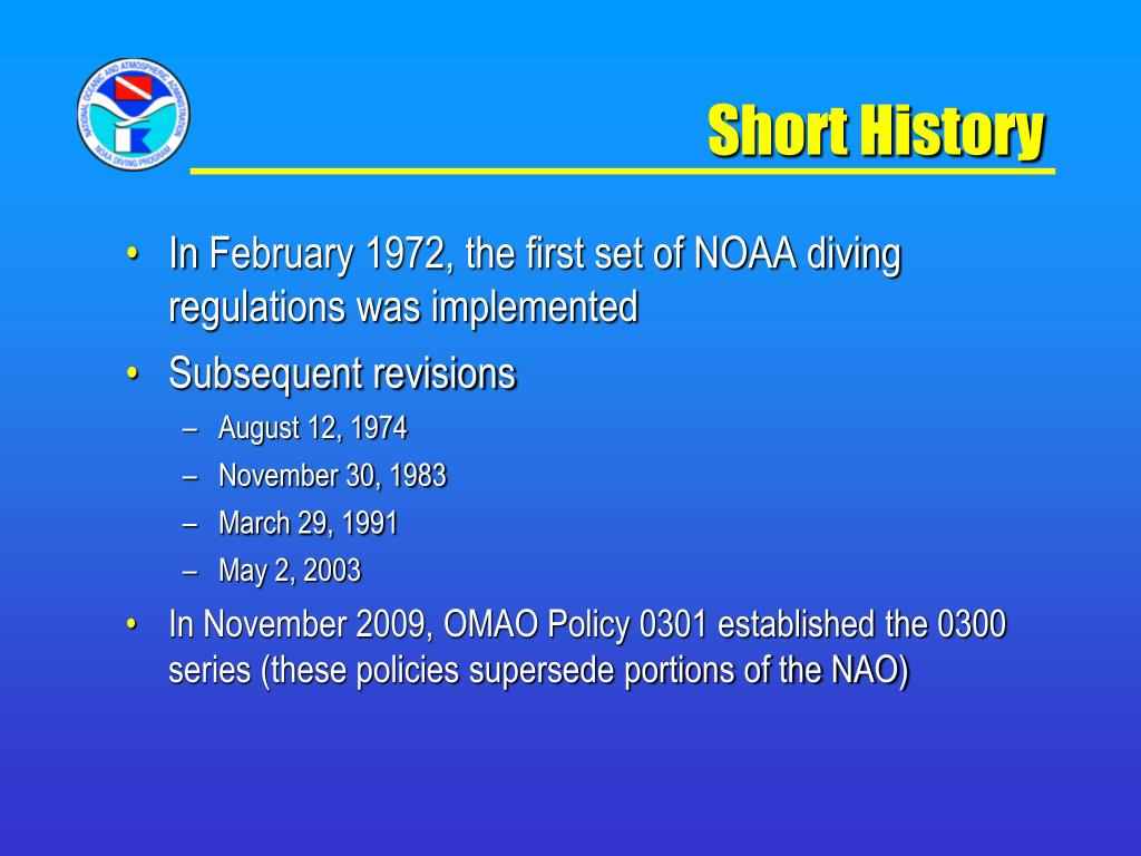 Short History