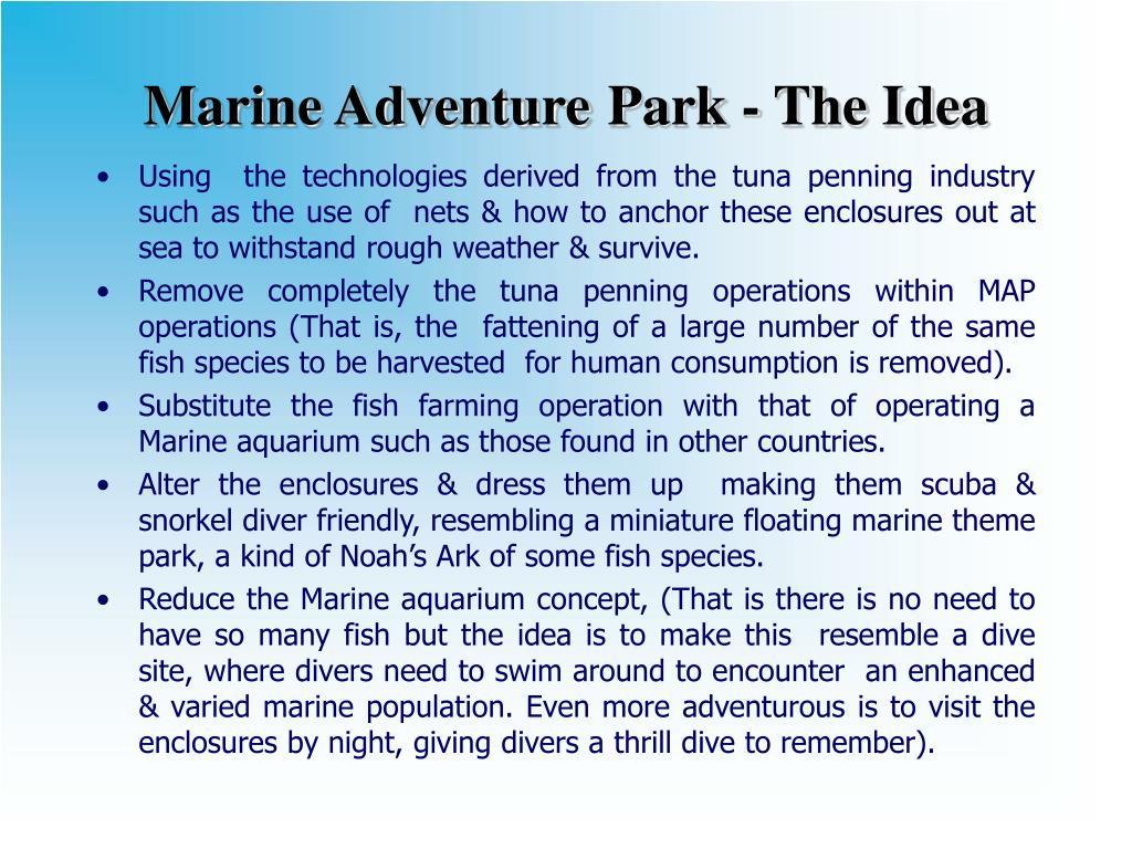 Marine Adventure
