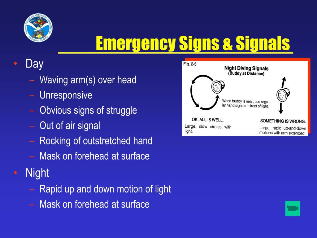 Emergency Signs & Signals
