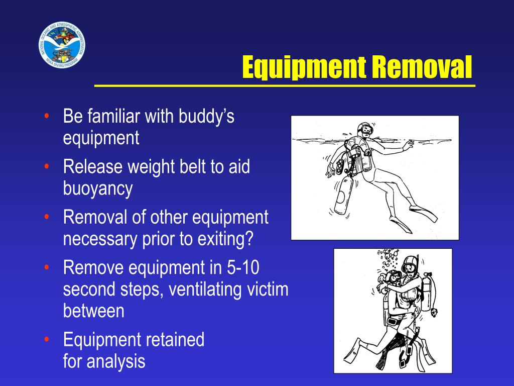 Equipment Removal