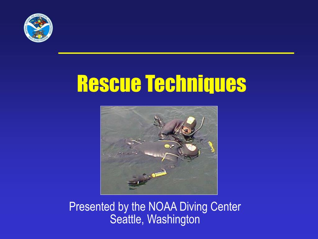 presented by the noaa diving center seattle washington