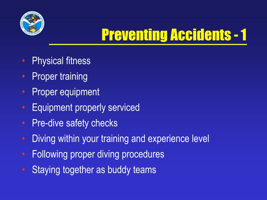 Preventing Accidents - 1