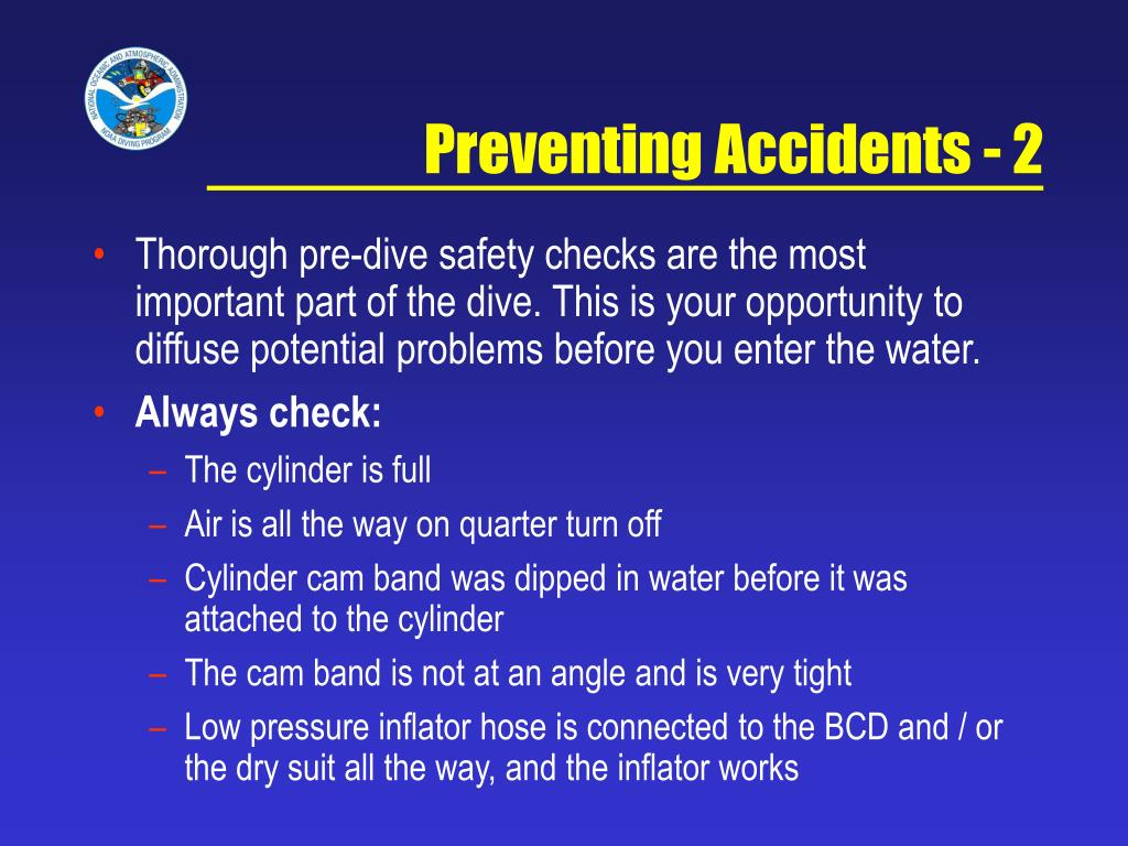 Preventing Accidents - 2