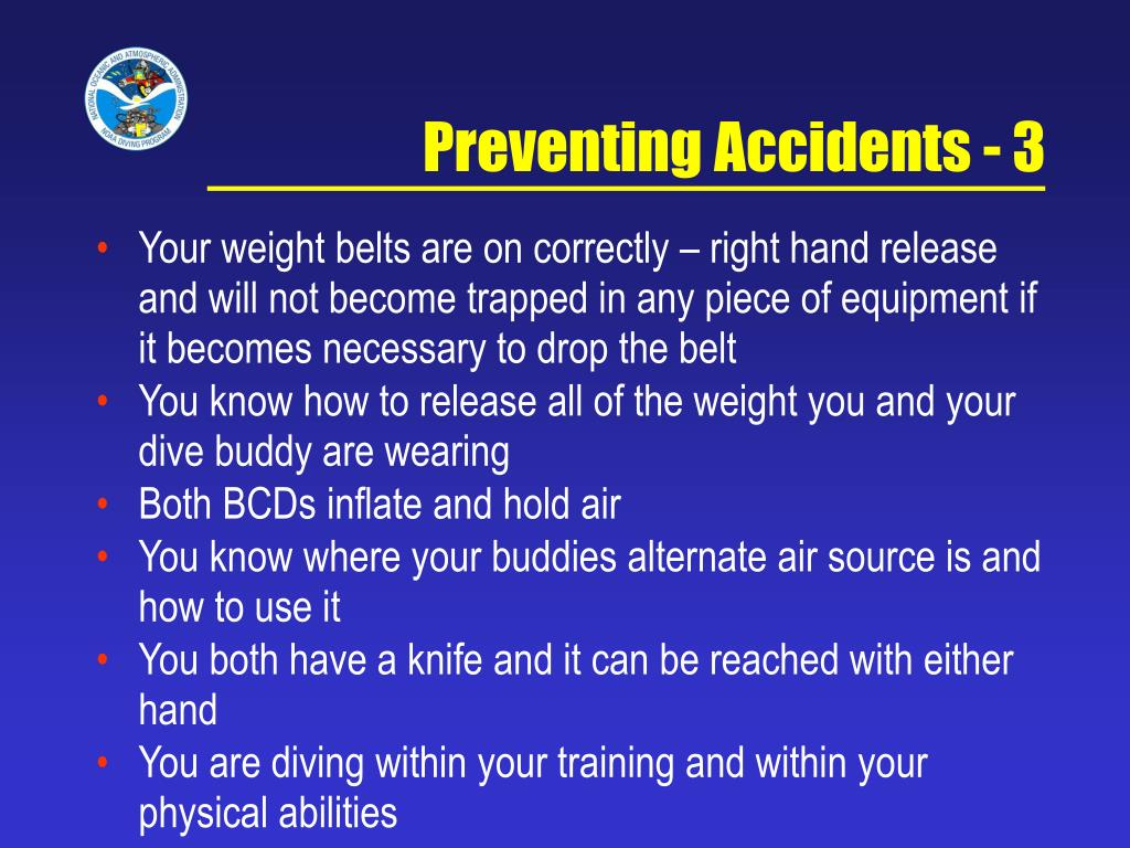 Preventing Accidents - 3