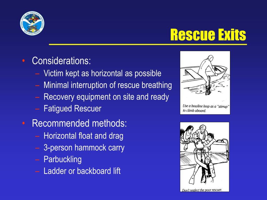 Rescue Exits
