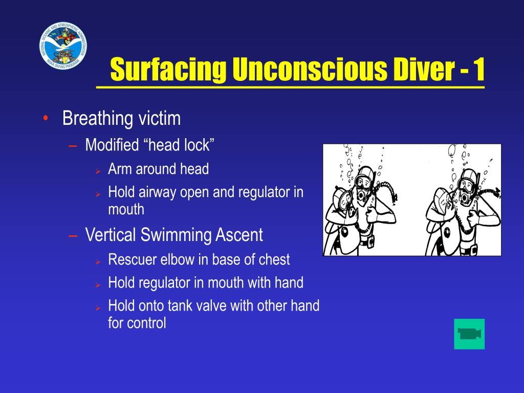 Surfacing Unconscious Diver - 1