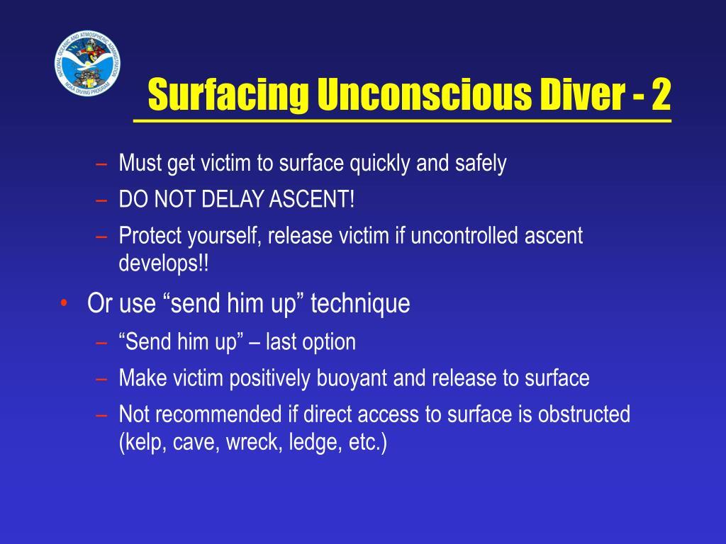 Surfacing Unconscious Diver - 2