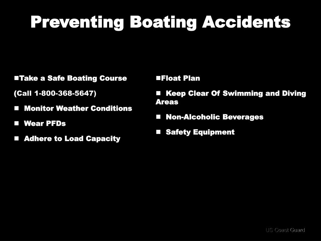 Preventing Boating Accidents