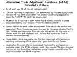 alternative trade adjustment assistance ataa individual s criteria