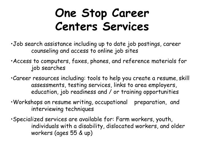 One Stop Career