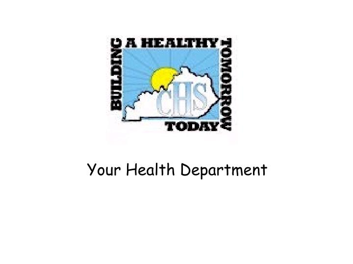 Your Health Department