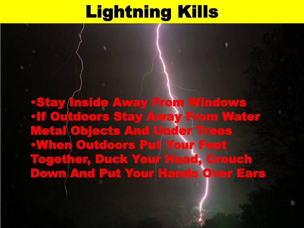 Lightning Kills