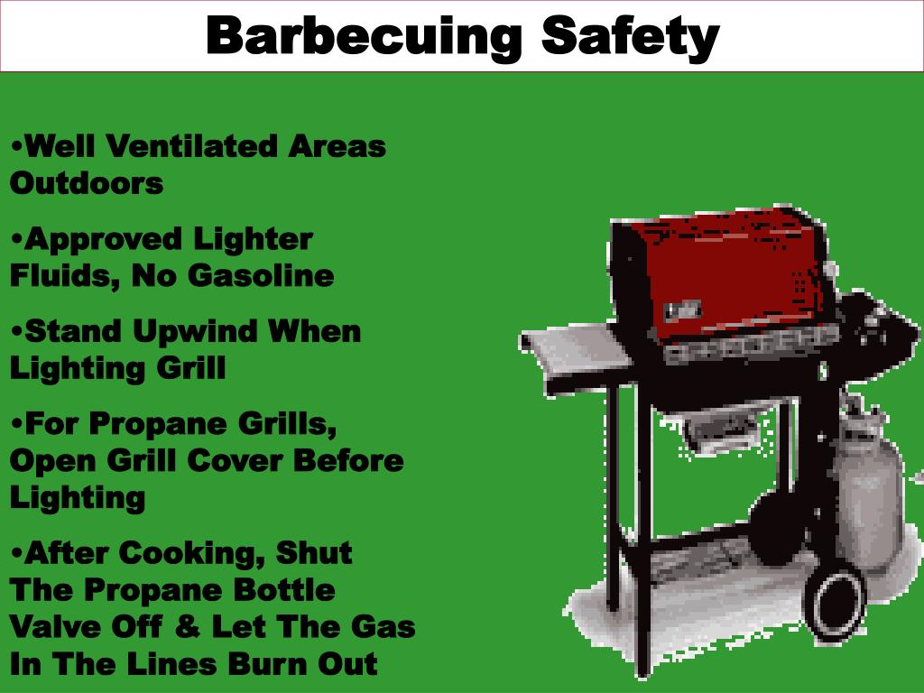 Barbecuing Safety