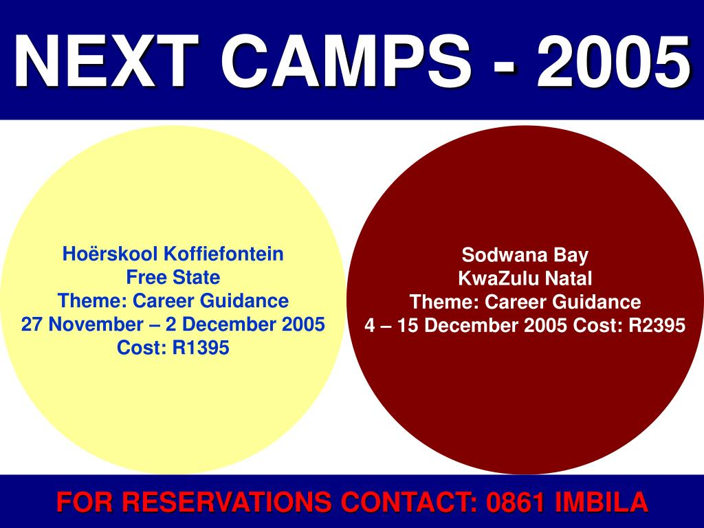 NEXT CAMPS - 2005