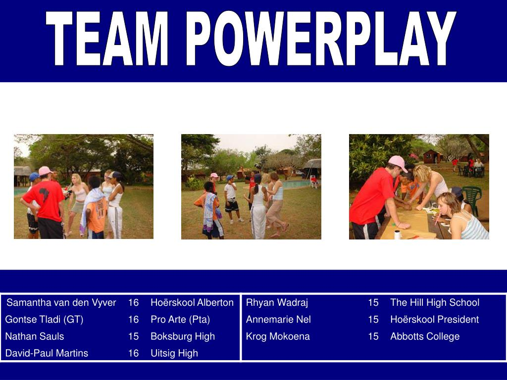 TEAM POWERPLAY