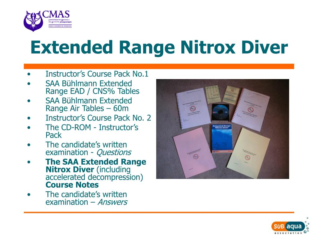 Extended Range Nitrox Diver