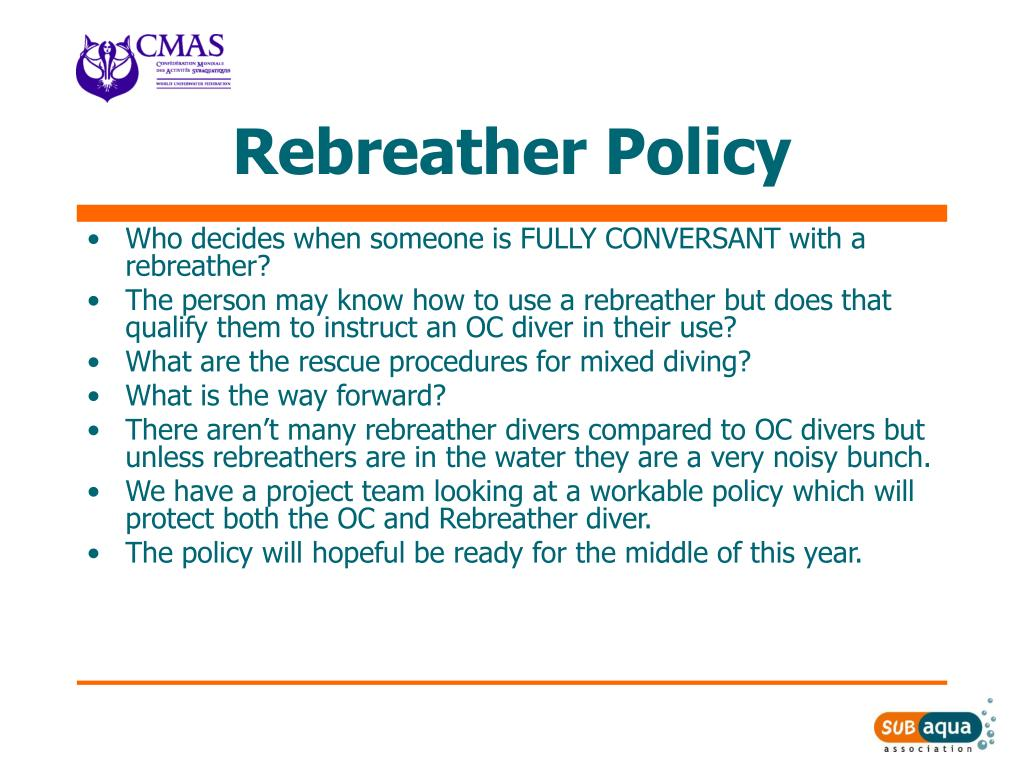 Rebreather Policy