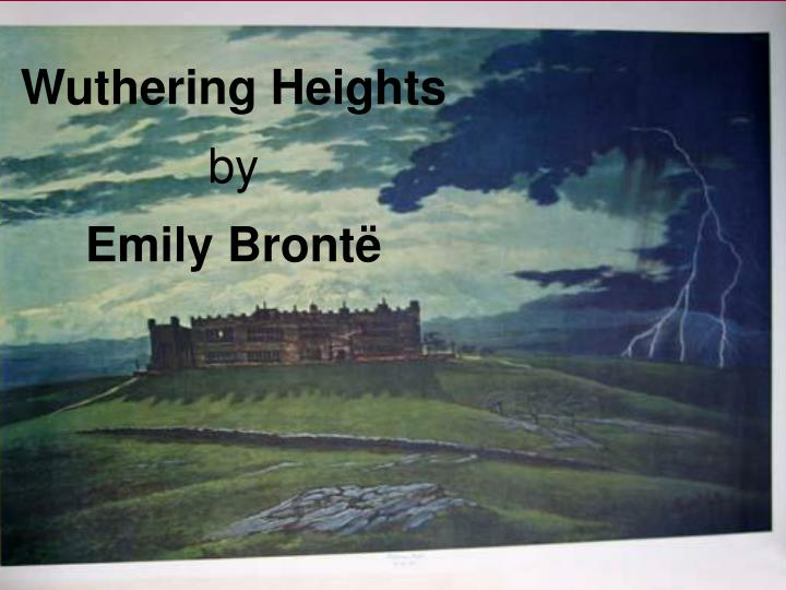 Essay on wuthering heights