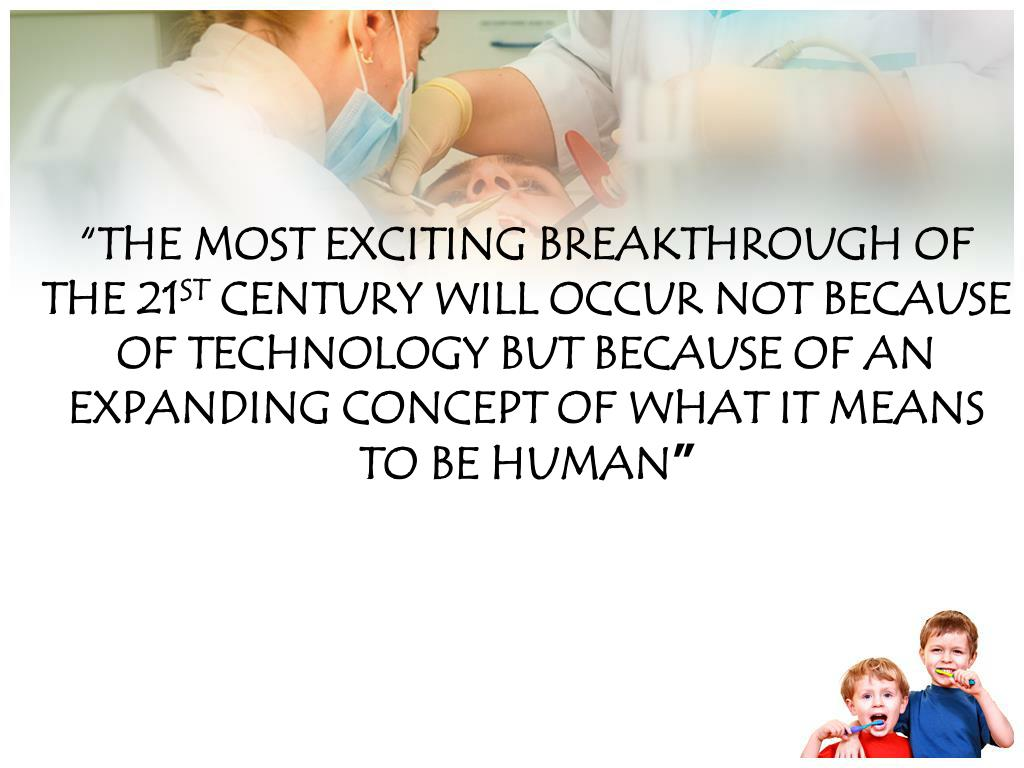 """THE MOST EXCITING BREAKTHROUGH OF THE 21"