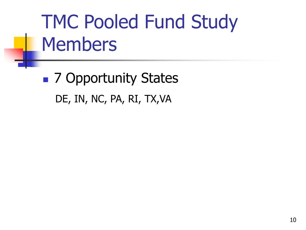 TMC Pooled Fund Study Members