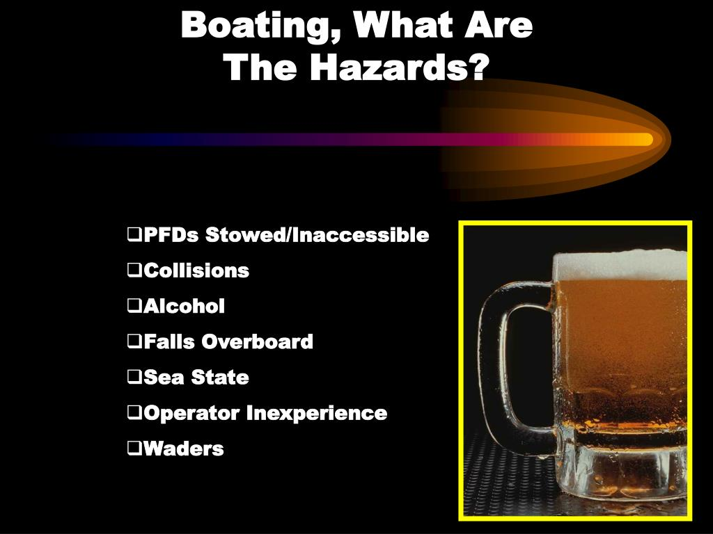Boating, What Are                       The Hazards?