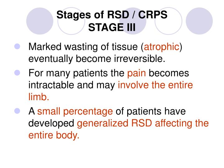 what is the difference between rsd and crps