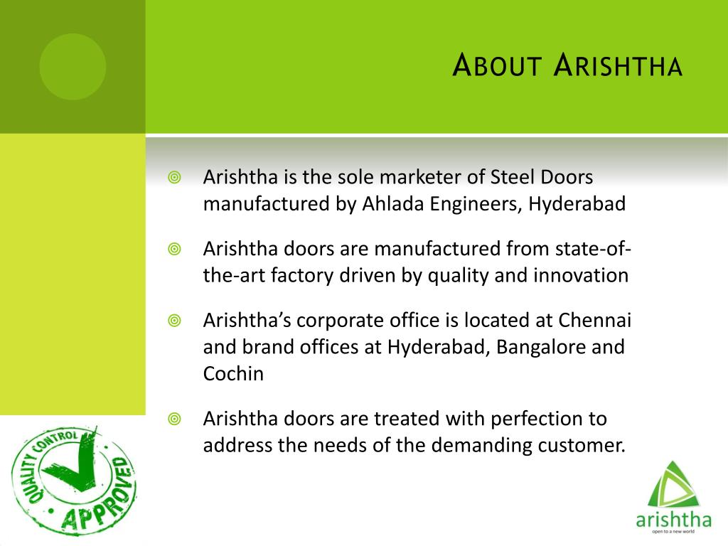 About Arishtha