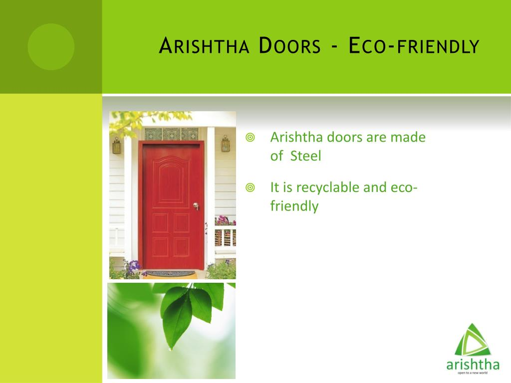 Arishtha Doors - Eco-friendly