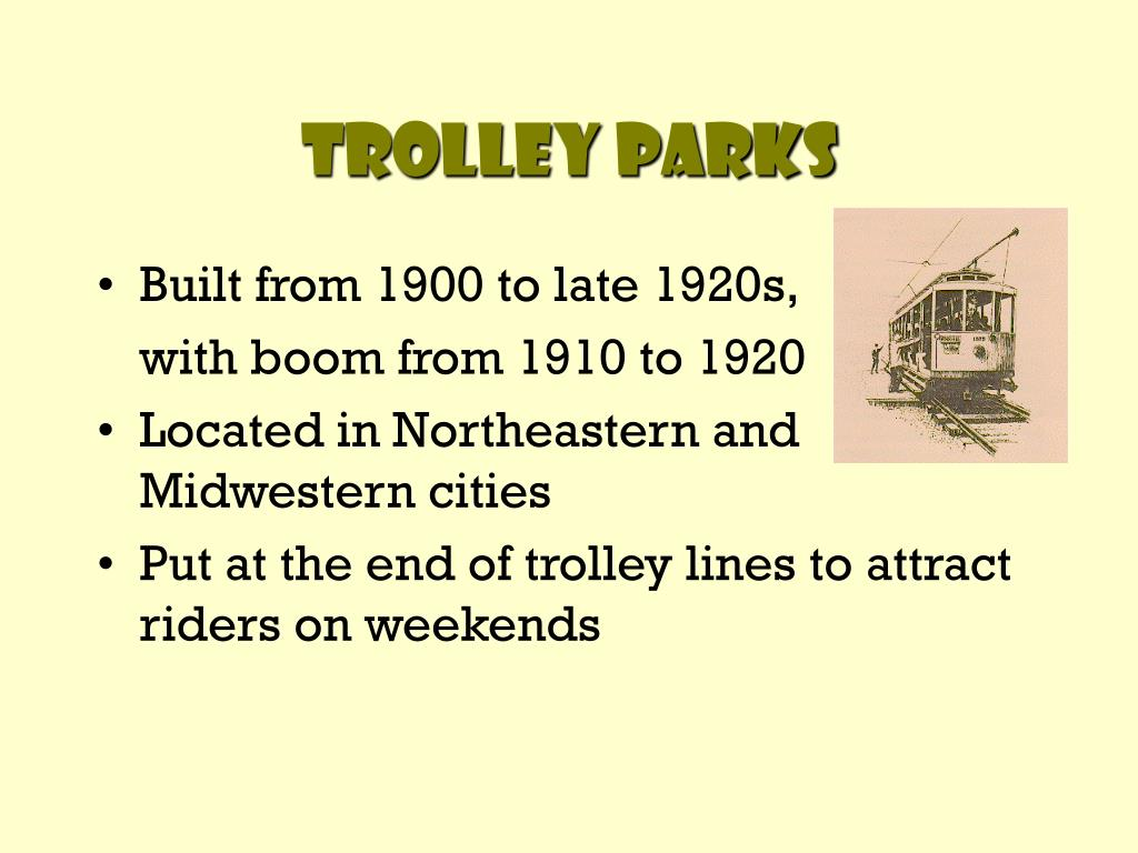Trolley Parks