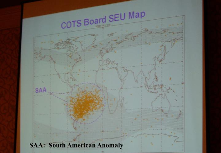 SAA:  South American Anomaly