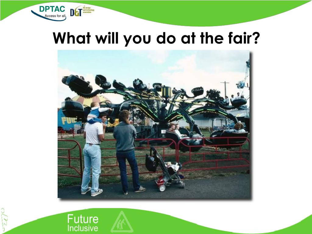 What will you do at the fair?