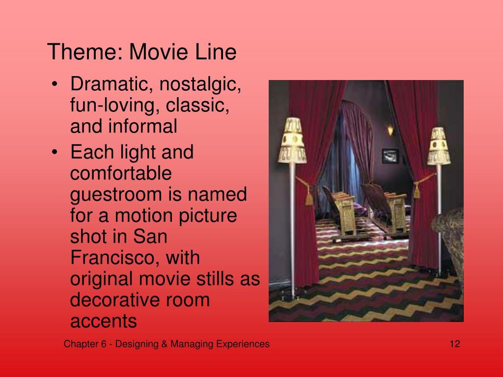 Theme: Movie Line