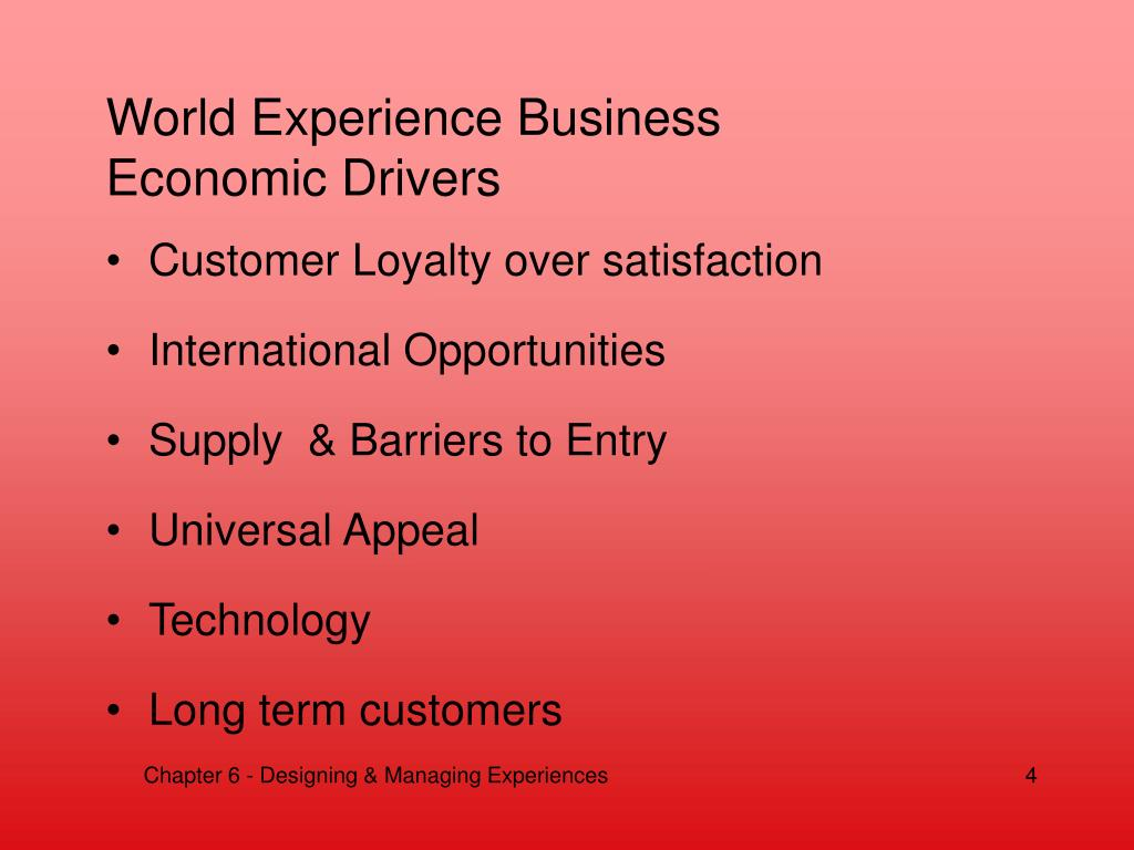 World Experience Business