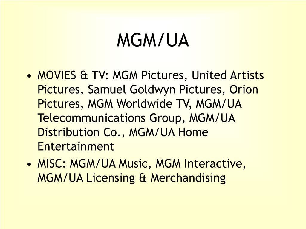 MGM/UA