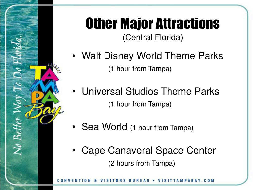 Other Major Attractions