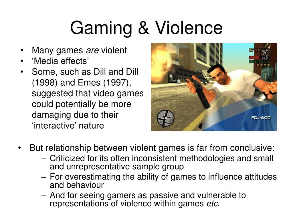 Gaming & Violence