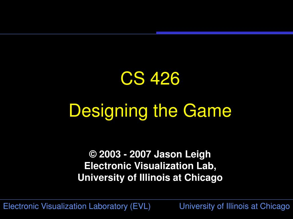 CS 426