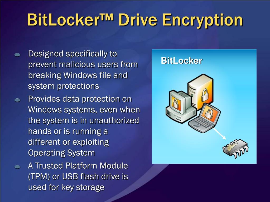 BitLocker™ Drive Encryption
