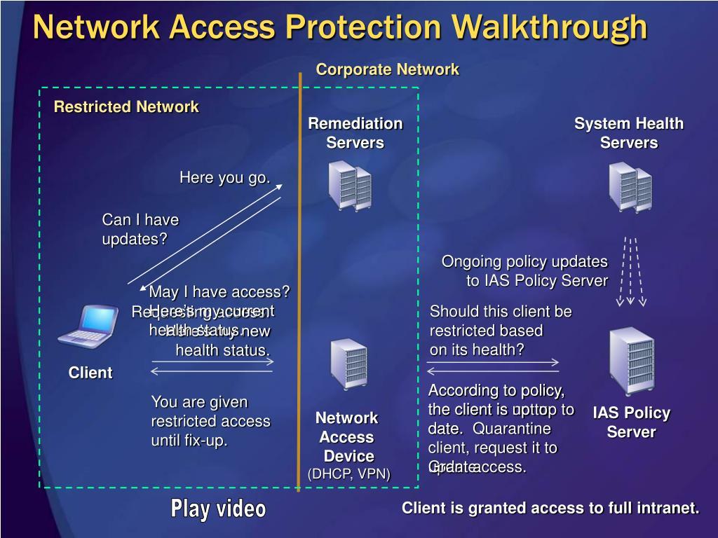 Network Access Protection Walkthrough