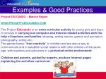 examples good practices30