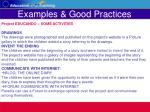 examples good practices31