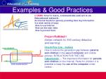 examples good practices32