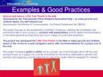 examples good practices36