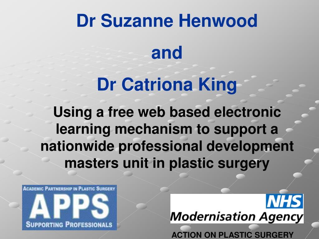 Dr Suzanne Henwood
