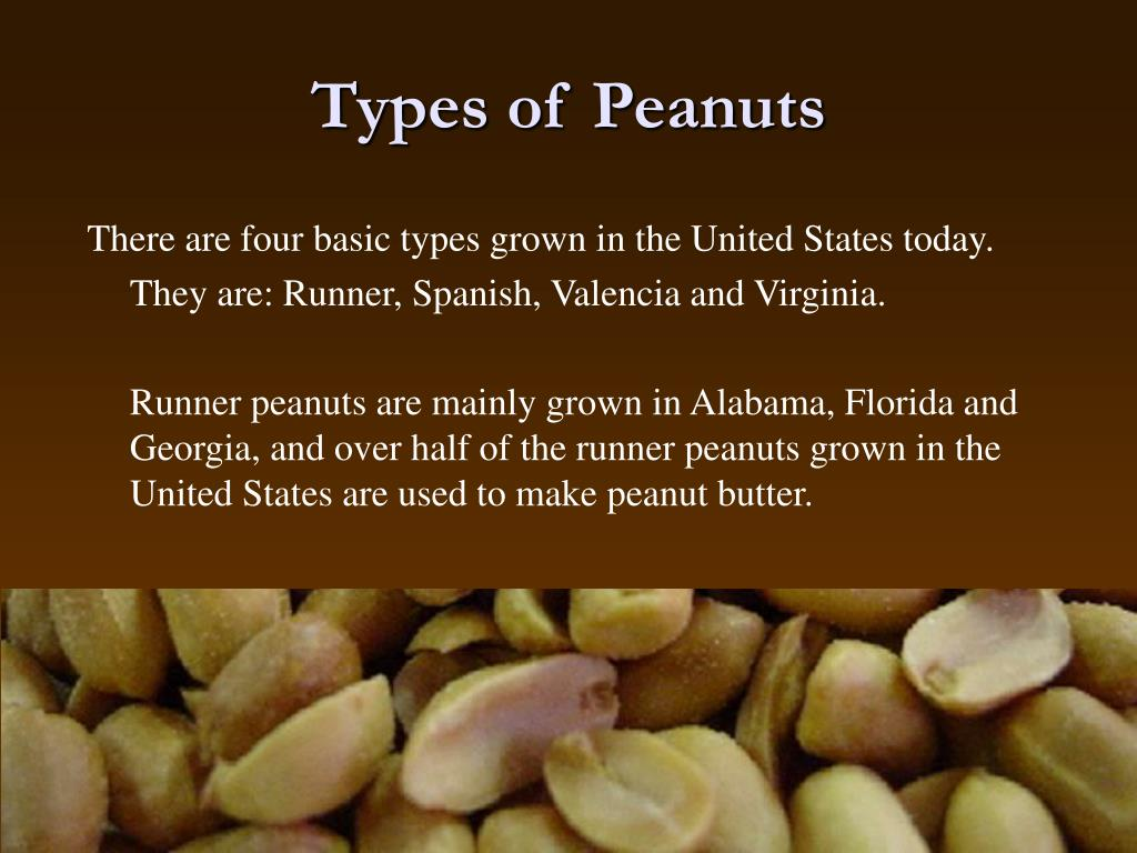 Types of Peanuts