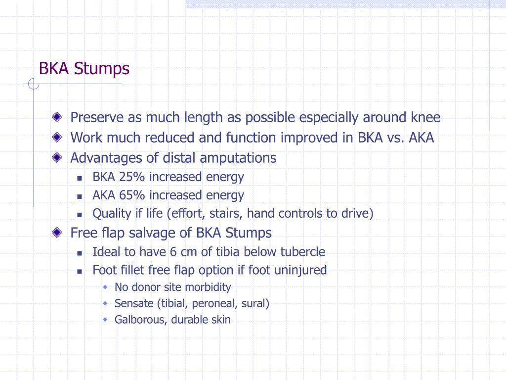 BKA Stumps